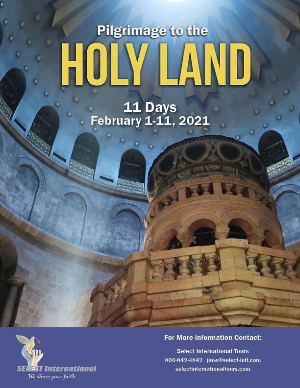 Holy Land Pilgrimage February 2021