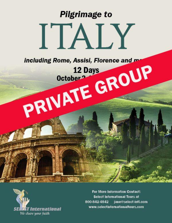 Italy Pilgrimage October 2021