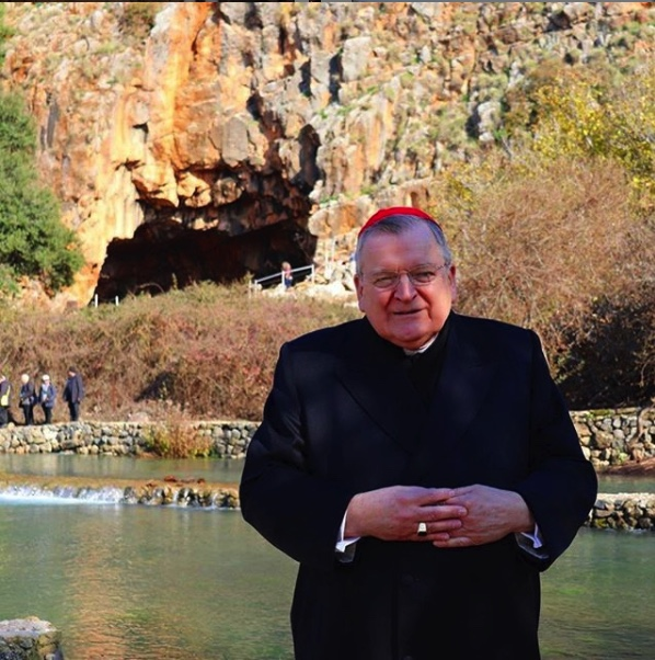 Cardinal Raymond Burke Travel with Select International Tours and Cruises