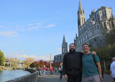 Dr. Marcellino at Lourdes with Select International Tours and Cruises