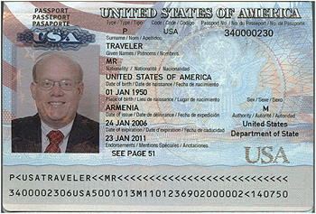 Passport Sample