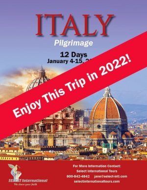 Pilgrimage to Italy January 2022 - 21JA01ITFF