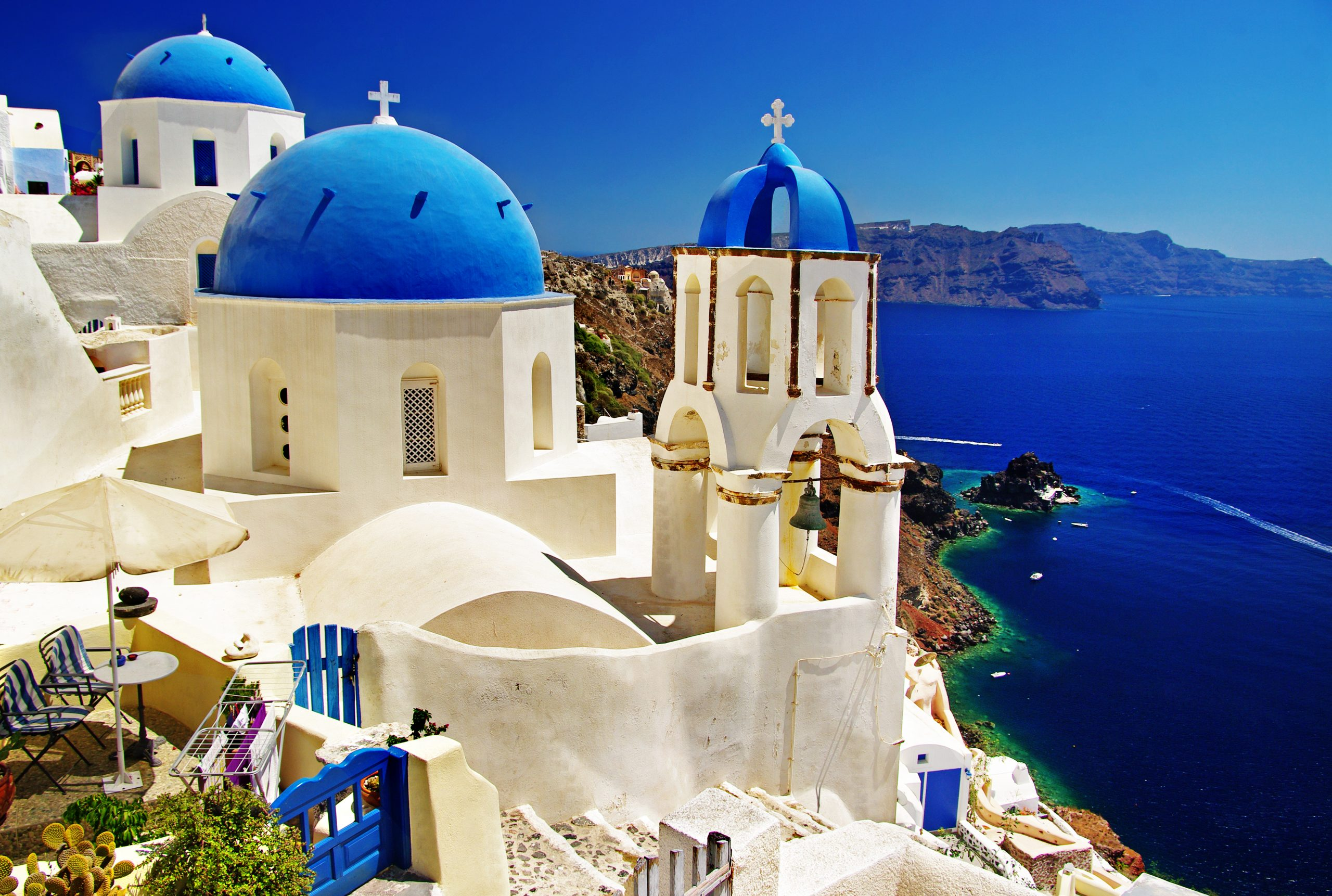 Santorini Greece and Turkey Pilgrimage with Select International Tours and Cruises