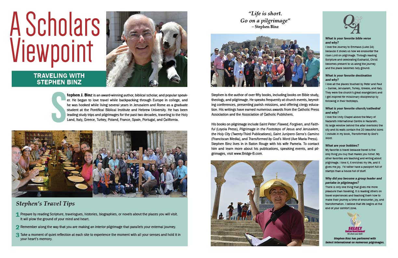 Well Traveled Pilgrim: Stephen J Binz