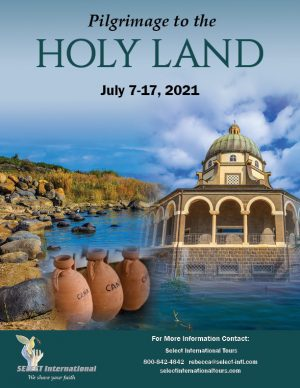 Pilgrimage to the Holy Land July 7-17, 2021 - 21RS07HLMP