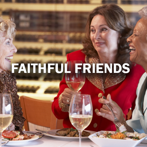 Faithful Friends Program for Solo Travelers Select International Tours and Cruises