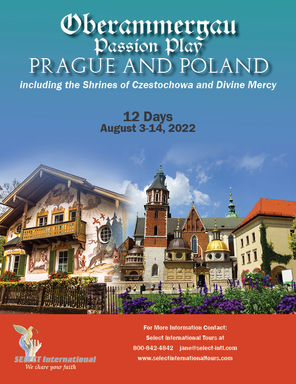 Pilgrimage to the Oberammergau Passion Play Prague and Poland August 3-14, 2022 - 22JA08OB_HBS
