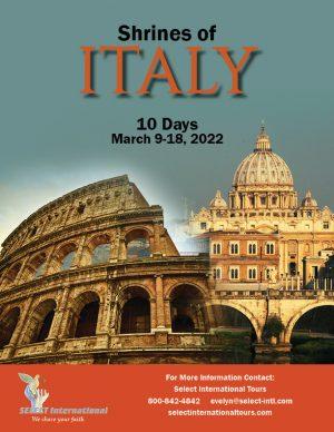Pilgrimage to Italy March 9-18, 2022 - 22EW03ITKB
