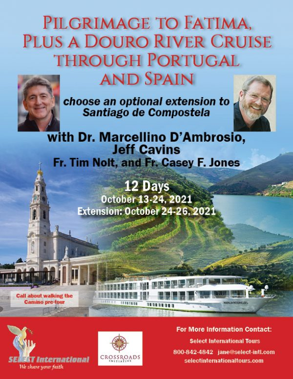 Fatima and a Douro River Cruise Through Portugal and Spain October 13-24, 2021 - 21JA10PT_JC