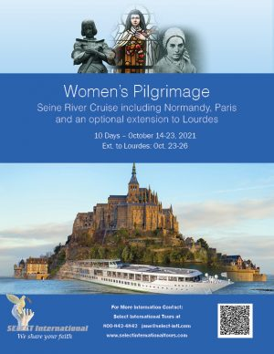 Awaken Catholic Women's Pilgrimage Seine River Cruise October 14-23, 2021 - 21JA10FRAC