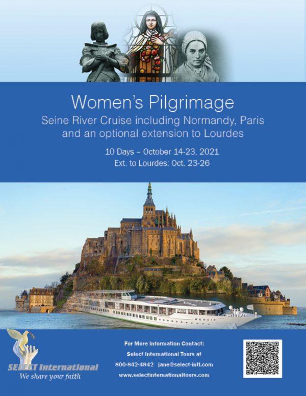 Awaken Catholic Women's Pilgrimage Seine River Cruise October 14-23, 2021 - 21JA10FRAC