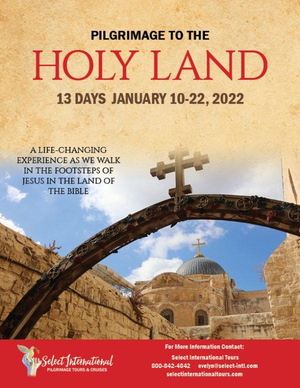 Pilgrimage to the Holy Land January 10-22, 2022 - 22EW01HLCN-1