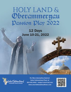 Holy Land and the Oberammergau Passion Play June 10-21, 2022 - 22EW06HL_JS