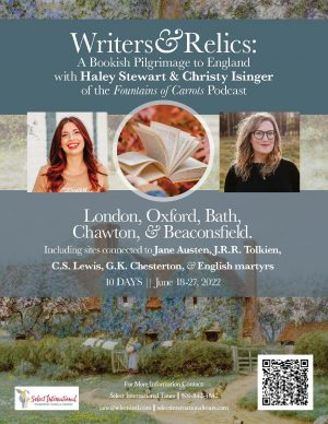 Writer and Relics: A bookish Pilgrimage to England June 18-27, 2022 - 22JA06UKFC