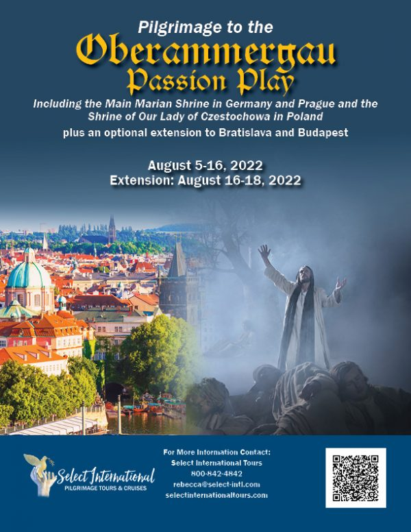 Pilgrimage to the Oberammergau Passion Play, Germany, Prague, and Poland August 5-16-2022 - 22RS08OBRM