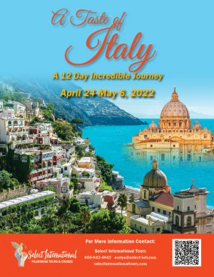 A Taste of Italy April 24 - May 6, 2022 - 22EW04ITTS