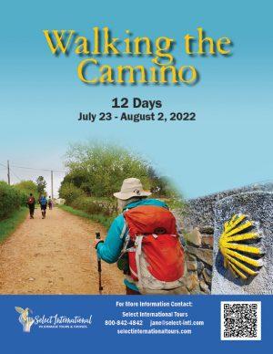 Walking the Camino in Spain July 23-August 2, 2022 - 22JA07SPMCP