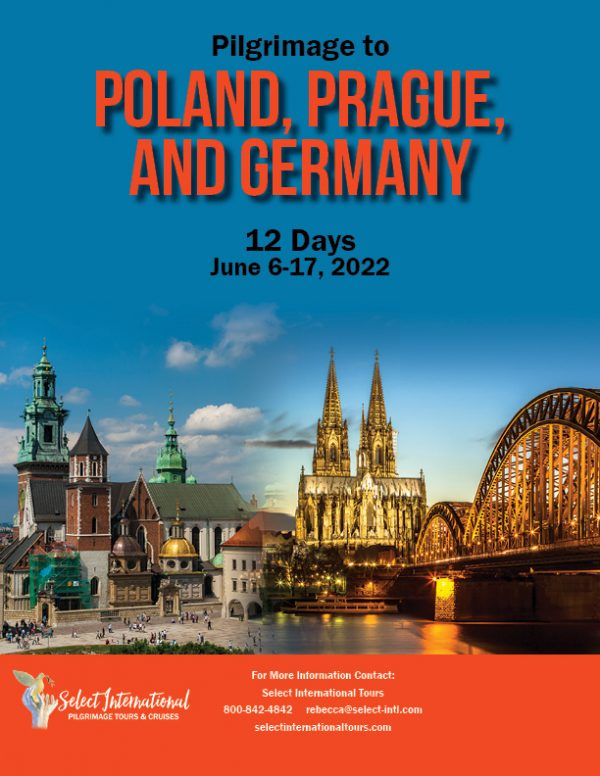 A Pilgrimage to Poland, Prague, and Germany June 6-17, 2022 - 22RS06POSD