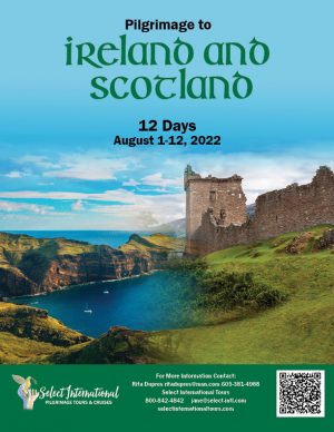 Pilgrimage to Ireland and Scotland August 1-12, 2022 - 22JA08UKRD
