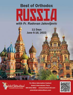 Best of Orthodox Russia June 6-16, 2022 - 22MI06RURJ