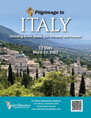 A Pilgrimage to Italy May 2 - 13, 2022 - 22JA05ITLM