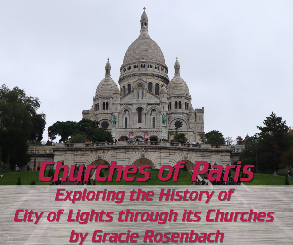 Churches of Paris blog post