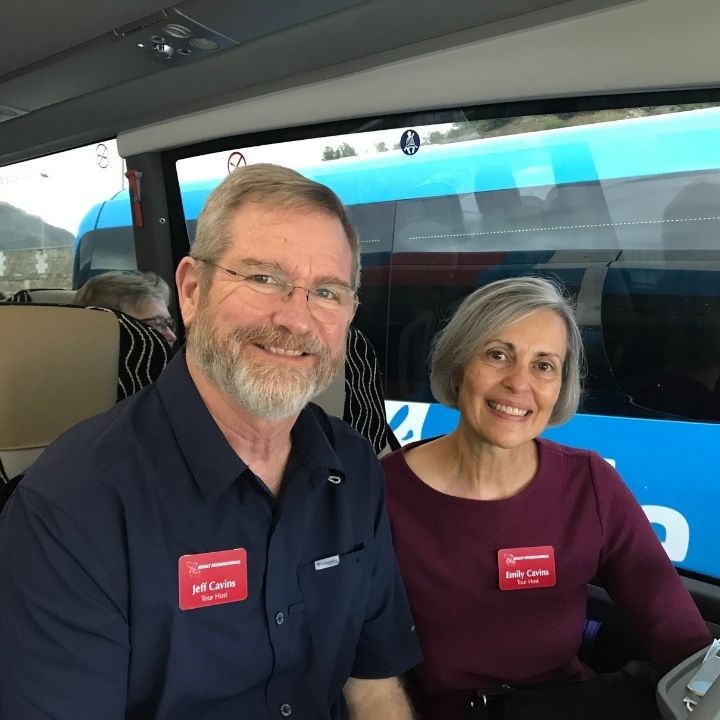 Jeff and Emily Cavins Choose Select international Tours